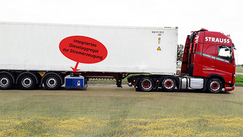 Container & Kühlcontainer-Transporte
