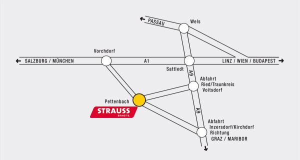 Lageplan Johann Strauss GmbH